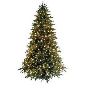 ge 7 5 ft pre lit fir artificial tree with white lights