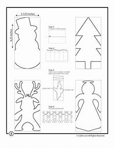 snowman paper chain template - christmas paper chain crafts