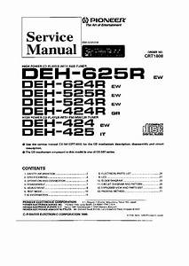 Wiring Diagram Pioneer Deh P3500
