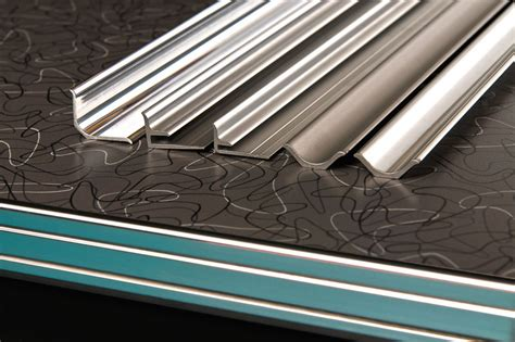 decorative metal banding australia aluminum countertop edging trim aluminum table edging