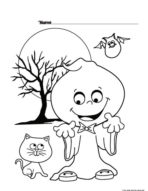 Coloring Pages by Ghost Printable Coloring Pages For Kidsfree