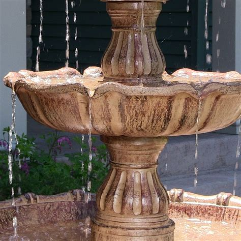 water 4 tier 6 5 large top for outdoors by sunnydaze decor