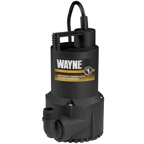 Wayne Rup160 16 Hp Oil Free Submersible Multipurpose