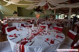 Deco Mariage Rouge Et Blanc Pas Cher : blanc et argent ailes et zen evenements ~ Dallasstarsshop.com Idées de Décoration