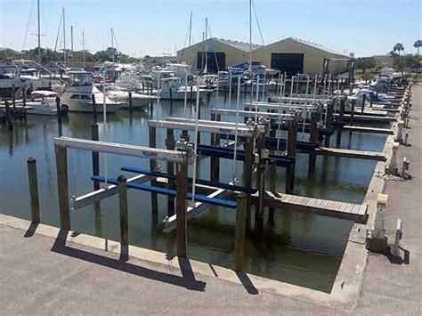 Marina Boat Lift by Marina Boat Lifts Golden Boat Lifts
