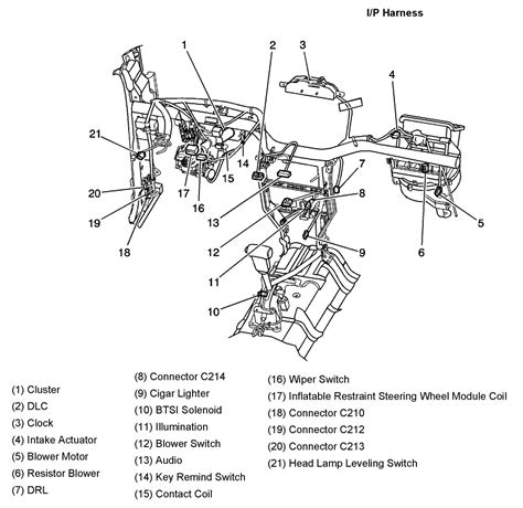 2006 Chevy Optra Wiring Diagram by 2005 Aveo Master Connector List And Diagrams