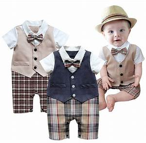 baby boy wedding christening formal party tuxedo suit With baby boy dress clothes wedding