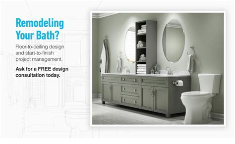 the kitchen collection inc bathroom renovation design services from lowe 39 s