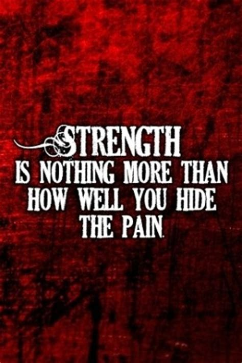 Hiding The Pain Behind A Smile Quotes