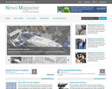 news website templates news magazine website template free website templates os templates
