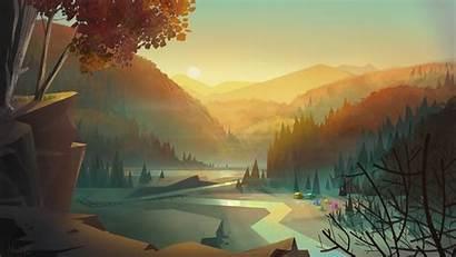 4k Digital Wallpapers Creek Vector 1080 Landscape