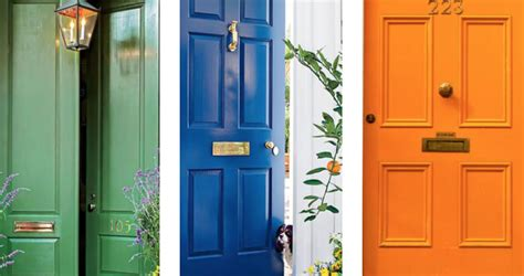 Best Feng Shui Colors For Your Front Door Are Here