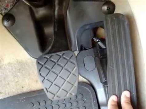 vw passat tdi gas pedal clicking youtube