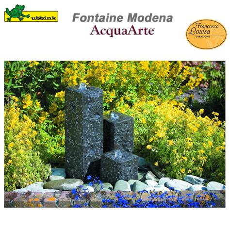 fontaine exterieur en fontaine de jardin ext 233 rieur en granit acquaarte modena ubbink 1308