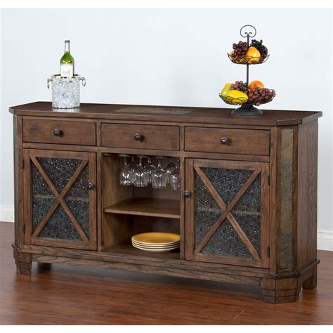 Buffet And Sideboards by Designs Buffet Server With Wine Rack
