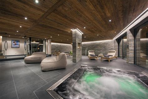 luxury steam room chalet sirocco for luxury winter vacation in 4 valleys swiss alps