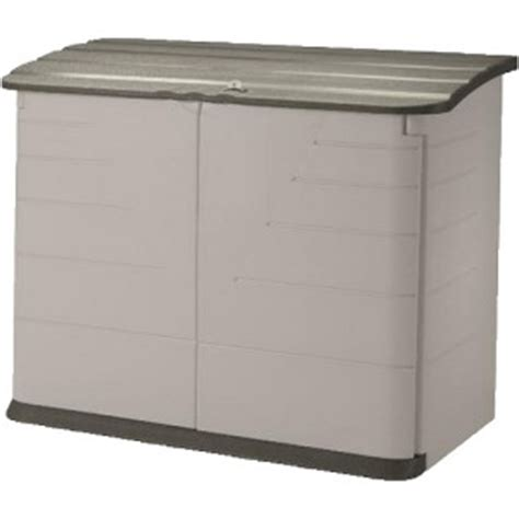 Rubbermaid Slide Lid Shed Manual by Rubbermaid Horizontal Storage Shed 32 Cubic Ft Review