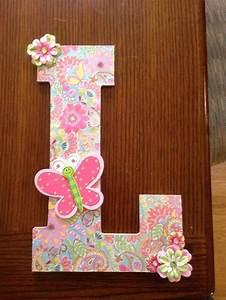 17 best images about handmade gift ideas on pinterest With scrapbook wooden letters