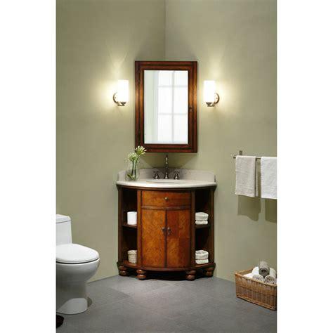 corner single bathroom vanity home decor corner sink