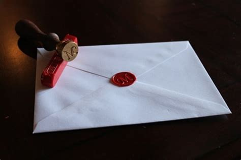 wax letter seal how to make wax seals for letters and envelopes the