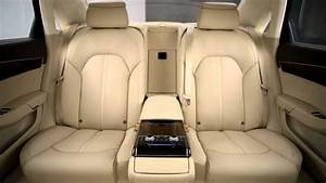 2011 Audi A8: Rear Seating - YouTube