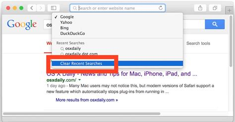 how to delete browsing history on safari on how to clear recent searches from safari on mac