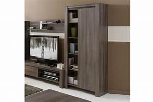 Bibliothèque Design Meuble : meuble biblioth que design ch ne r glisse ~ Voncanada.com Idées de Décoration