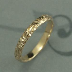 yellow gold wedding band florence women39s gold wedding With vintage wedding rings gold