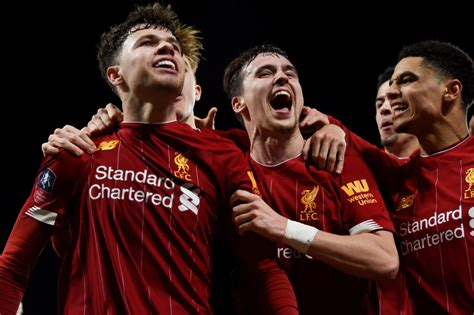 'Liverpool youngsters played identically to the first team ...