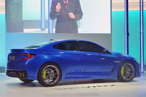 Subaru Wrx 2019 Concept by 2019 Subaru Wrx Sti Concept Carmodel