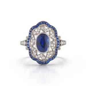 antique sapphire engagement rings sapphire vintage engagement rings wedding promise engagement rings trendyrings