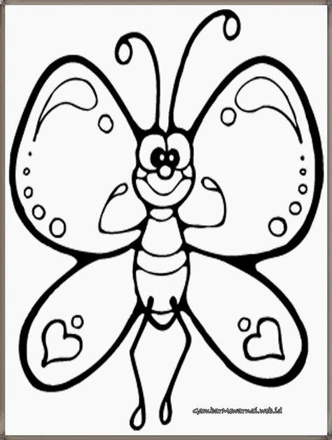 Coloring Kupu Kupu by Gambar Mewarnai Kupu Kupu Coloring Pages Butterfly