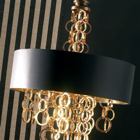 Kronleuchter Modern Schwarz by Modern Italian Black And Gold Chandelier