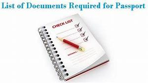 Documents required for passport application renewal for Documents required for passport for renewal
