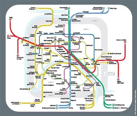 Carte Metro Rer by Carte Du Metro Et Rer De The Best Cart