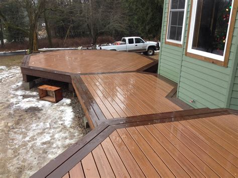 Installing Trex Decking With Fasteners by Trex Deck Construction Herndon Homes General