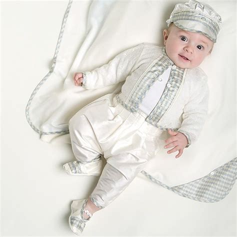 Christening Suit for Baby Boys