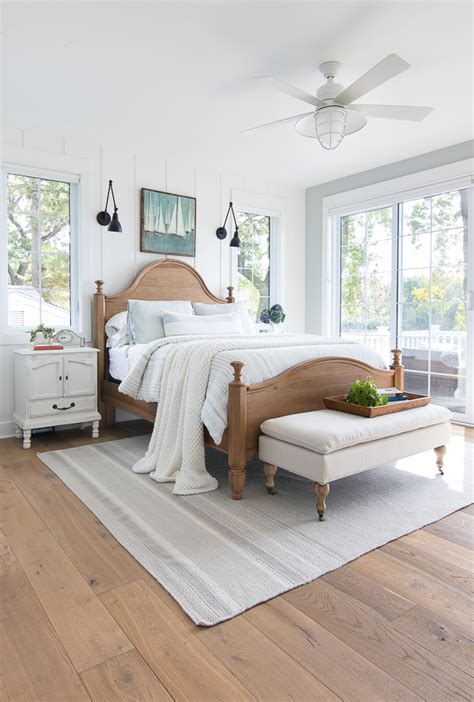 Lake House Master Bedroom  The Lilypad Cottage