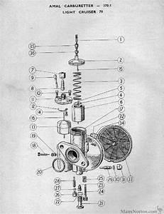 Francis Barnett 1958 Amal Carburettor