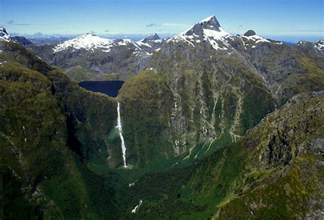 Sutherland Fall Longest Waterfall In New Zealand