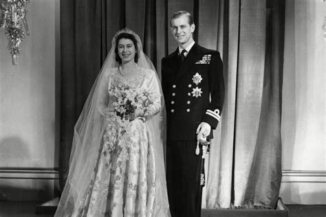 Prince Philip and Queen Elizabeth II Wedding
