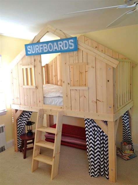diy clubhouse bed  kids jaime costiglio