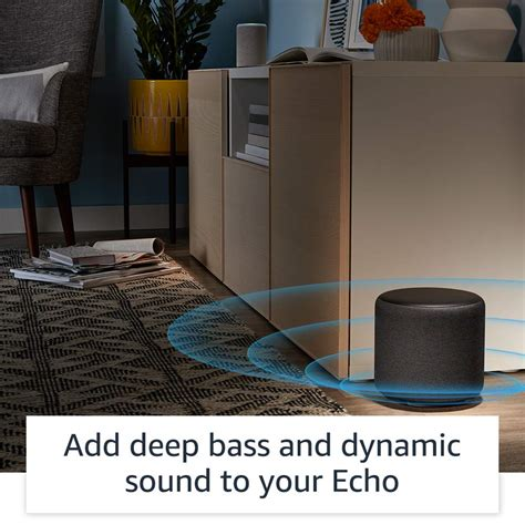 echo smart home all new echo plus 2nd premium sound with built in smart home hub sandstone