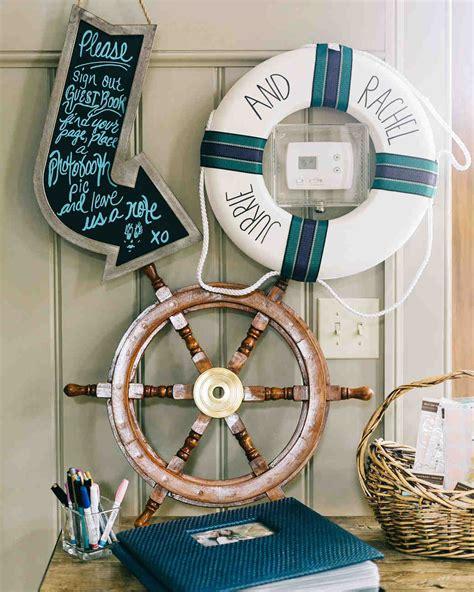Boat Wedding Decoration Ideas by Nautical Wedding Ideas Martha Stewart Weddings