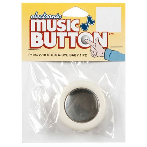 electronic push touch tone  button rock  bye baby   song