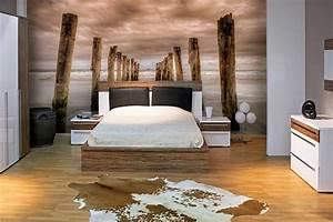 Papier Peint Chambre À Coucher : papier peint chambre quelles sont les couleurs que vous devez choisir ~ Nature-et-papiers.com Idées de Décoration