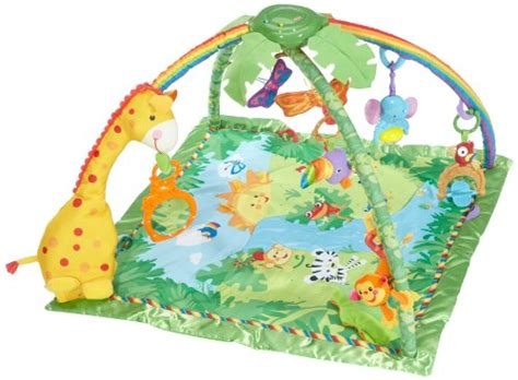 fisher price rainforest melodies and lights deluxe gym