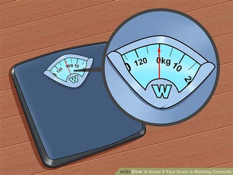 scale  working correctly  steps