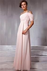 Robe Rose Pale Demoiselle D Honneur : robe rose pale pour demoiselle d 39 honneur asym trique ~ Preciouscoupons.com Idées de Décoration