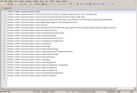 Sitemap Generator For Google Atix
